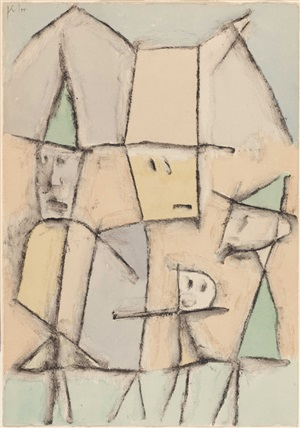 touristen by paul klee