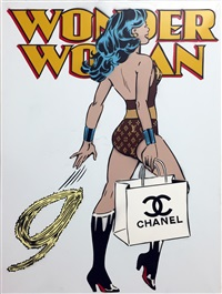 wonder woman (chanel) by rich simmons