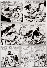 magnus, robot fighter #19 page 3 original art (gold key, 1967) by russ manning