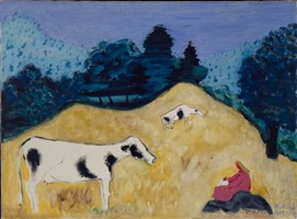 bucolic sketcher by milton avery