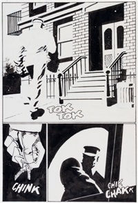 sin city: hell and back #4 page 4 original art (dark horse, 1999) by frank miller