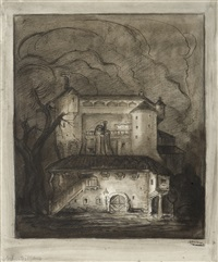 hodgepodge house by alfred kubin