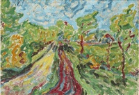 way through the bushes by erich heckel