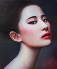 woman 2 by zhang xiangming