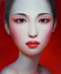 woman 1 by zhang xiangming
