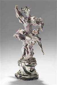 ballerina by lucio fontana