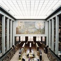 deichmanske bibliothek i-ii-iii by candida höfer