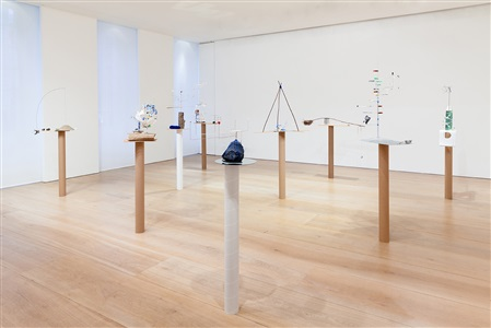 installation view model series 2015 victoria miro mayfair by sarah sze