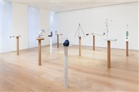installation view, model series, 2015, victoria miro mayfair by sarah sze