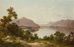 lake george from dresden by david johnson