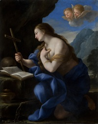 the penitent magdalene by giovanni francesco romanelli