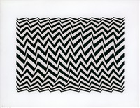 untitled (fragment 3) by bridget riley