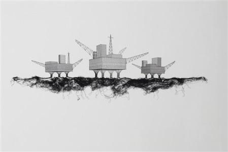 plateformes pétrolières by elodie antoine