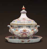 tureen, cover and stand by unknown