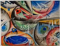 composition by rudolf bauer