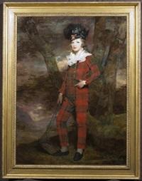 portrait of sir euan murry-macgregor by sir henry raeburn