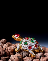 turtle brooch by cartier