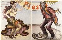 fiesta dancers by luis jiménez