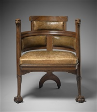 eagle chair by edward william godwin