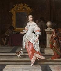 la grande dame by eglon hendrik van der neer