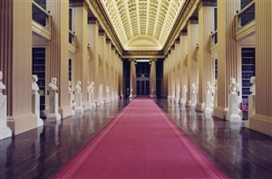 playfair library hall university of edinburgh by candida höfer