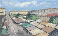 (15) market stall in old nice by ian houston