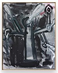 untitled (baum m°o°i°z) by walter dahn