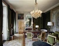 bureau du général de gaulle trianon-sous-bois – 1er étage, chateau de versailles by robert polidori