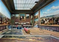 salle de la smalah, salles de l'afrique, aile du nord, – 1er étage, chateau de versailles by robert polidori