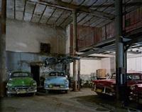 havana car garage, 157 avenida brazil, havana vieja, havana, cuba by robert polidori