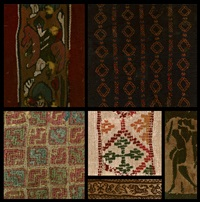 textile panels by unknown