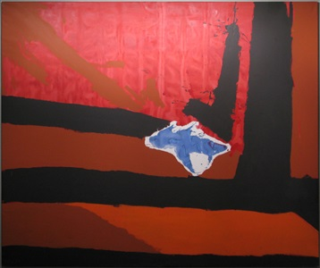untitled new england elegy no5 by robert motherwell