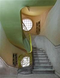 deco stairwell #2, havana by michael eastman