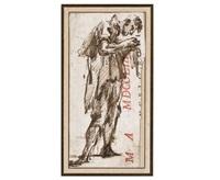 standing man on profile by giovanni battista piranesi