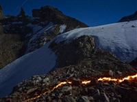 the lewis glacier, mt. kenya, 2004 (b) by simon norfolk