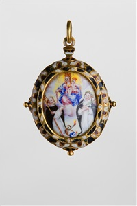 devotional pendant by unknown