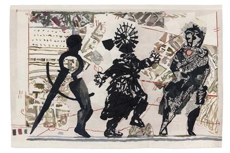 william kentridge tapestries by william kentridge