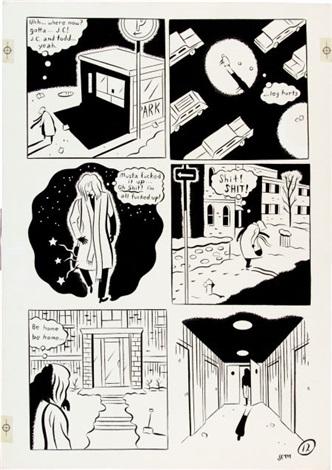 Les comics que vous lisez en ce moment - Page 35 Seth-palookaville-1-page-12-original-art-(drawn-and-quarterly,-1991)