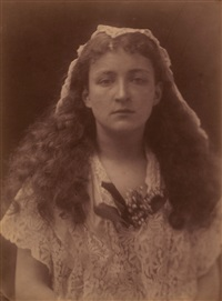 isabel bateman in the character of queen henrietta maria by julia margaret cameron