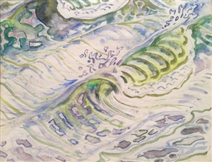 waves-horn island by walter inglis anderson
