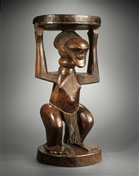 caryatid stool by unknown