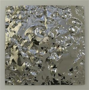 molded mirror no.21 by hubertus hamm