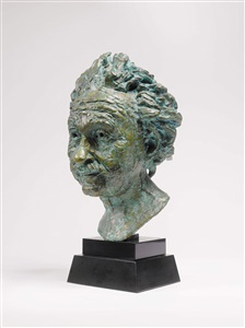 professor albert einstein conceived in 1933 by sir jacob epstein
