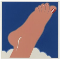 seascape (foot) by tom wesselmann