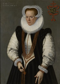 marie de huelstre by frans pourbus the younger