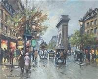 la porte st. denis by antoine blanchard