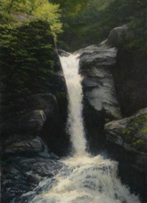 waterfall by peter bergeron