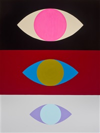 eyes #1 by richard colman