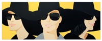 black hat iv by alex katz