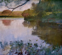 the pond by frank duveneck